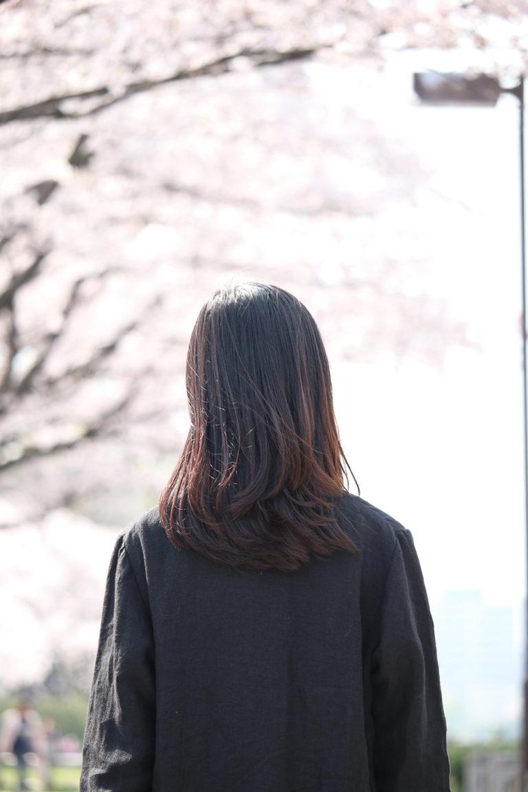 桜が咲いた、ぼくは咲くのをまっていたんだよ、の、こと