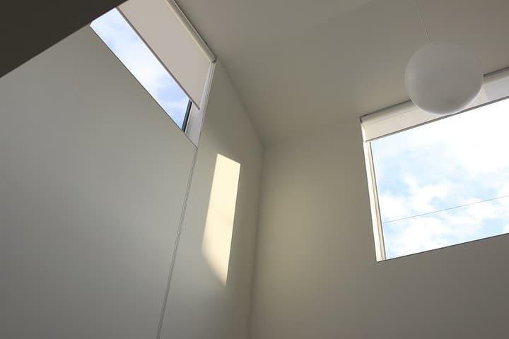 窓の家がやさしいね