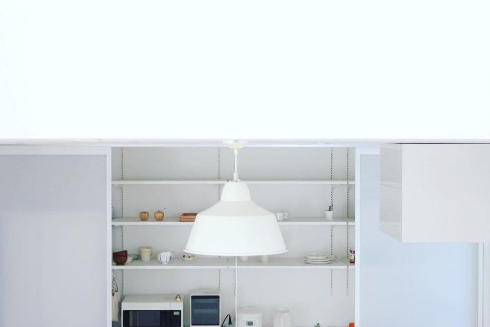 余白のあるキッチン