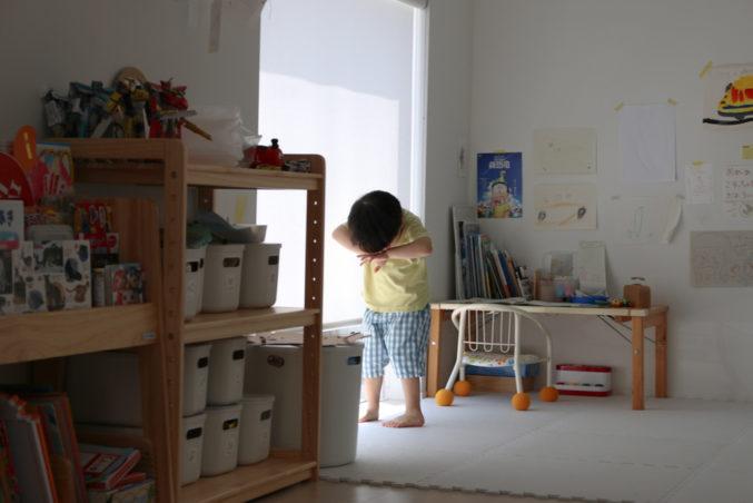 3歳のぼくが、泣く理由。